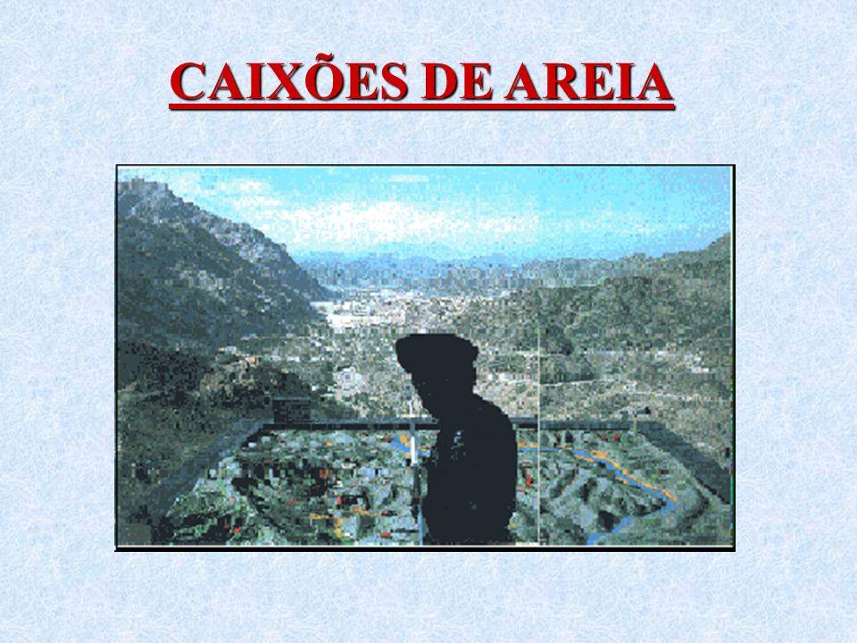 CAIXÕES DE AREIA