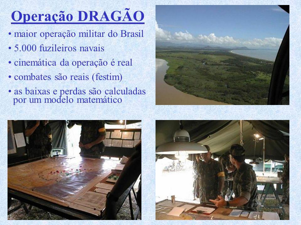 Operação DRAGÃO maior operação militar do Brasil