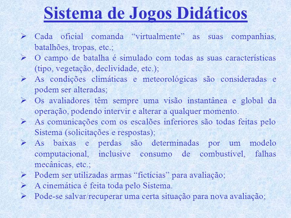 Sistema de Jogos Didáticos