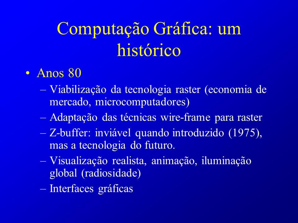 Computação Gráfica: um histórico