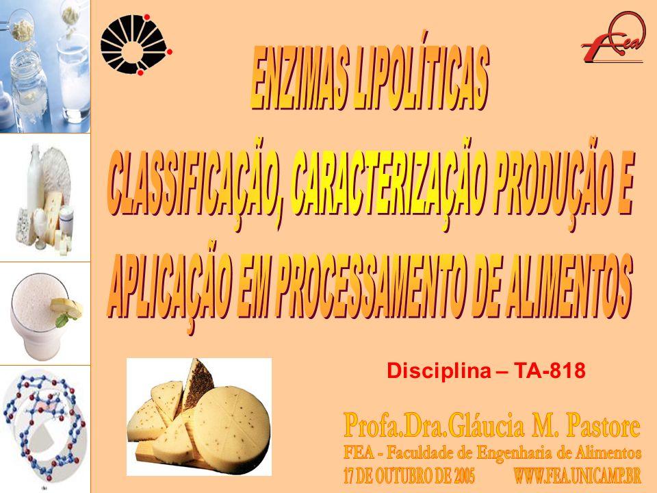 CLASSIFICAÇÃO, CARACTERIZAÇÃO PRODUÇÃO E