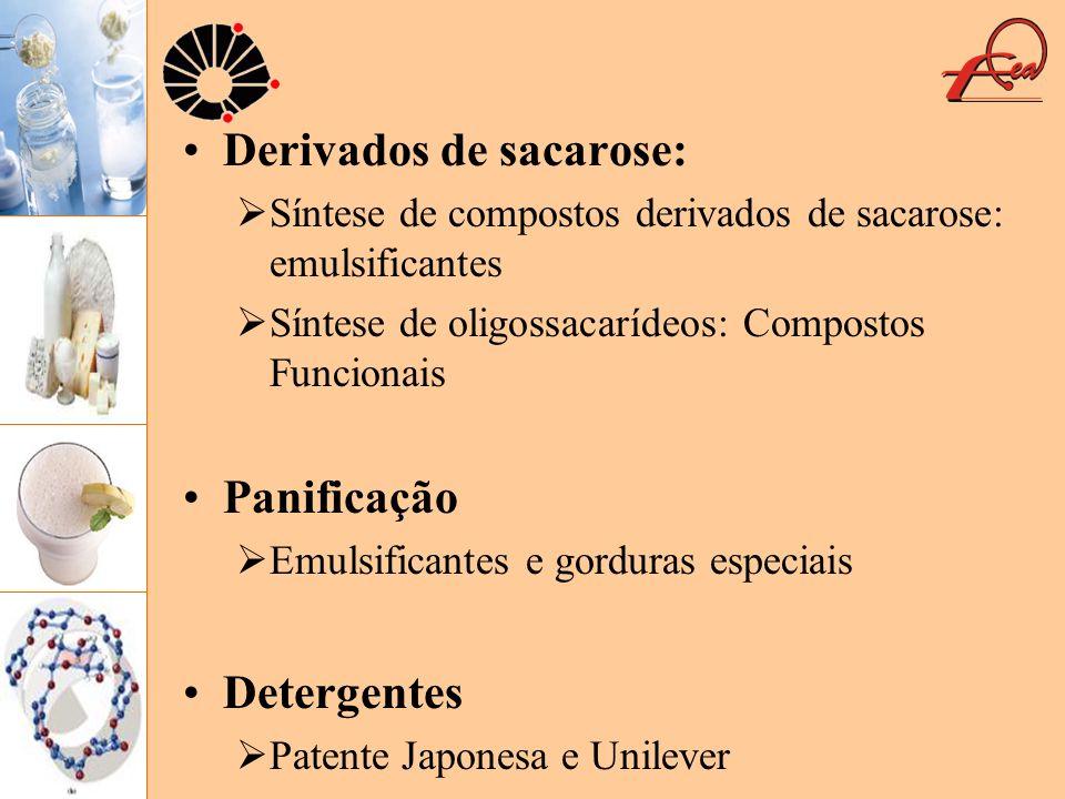 Derivados de sacarose:
