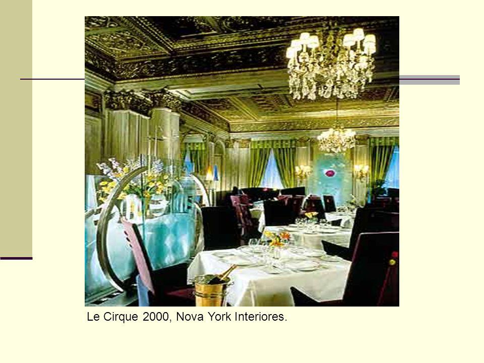 Le Cirque 2000, Nova York Interiores.