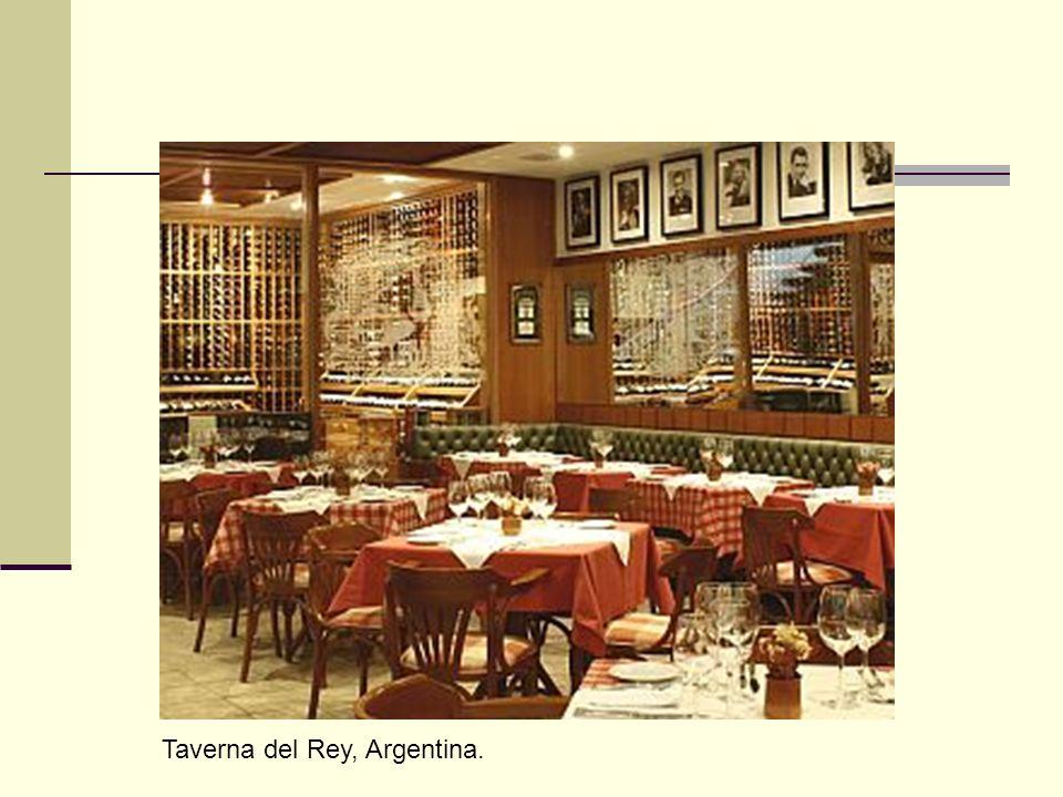 Taverna del Rey, Argentina.