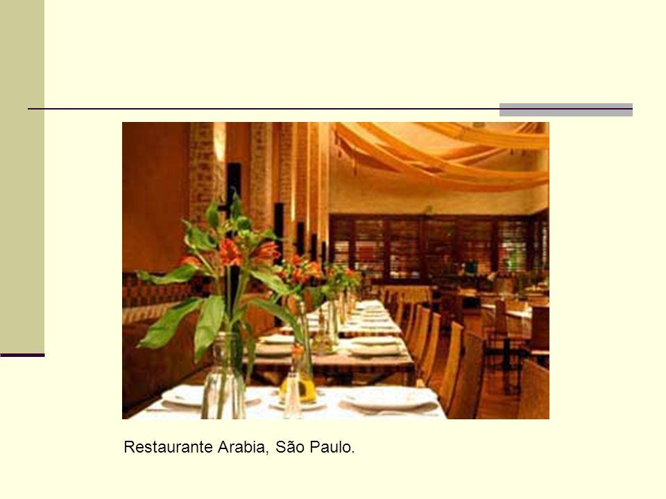 Restaurante Arabia, São Paulo.