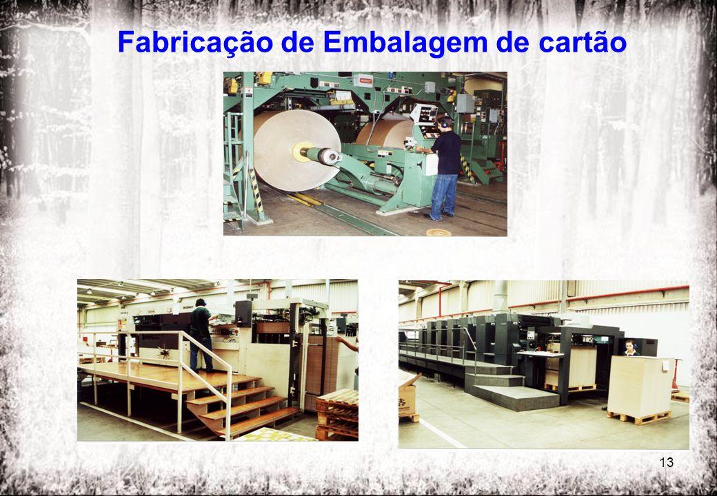 Fabricação de Embalagem de cartão