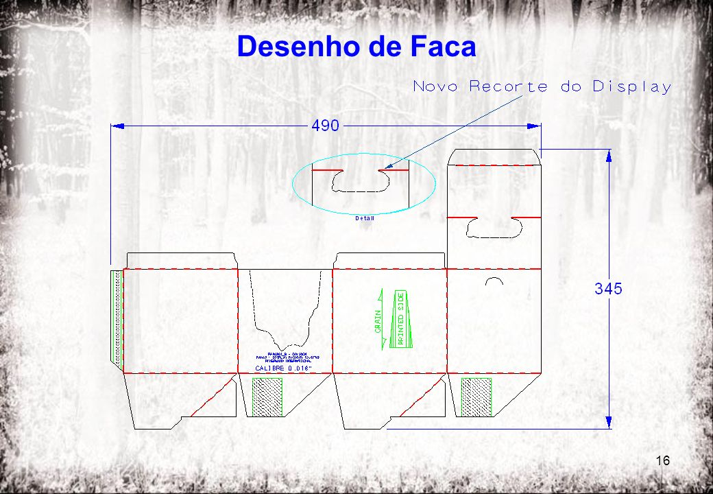 Desenho de Faca