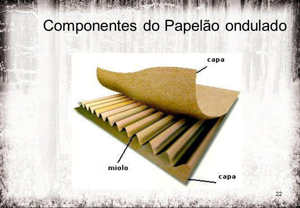 Componentes do Papelão ondulado