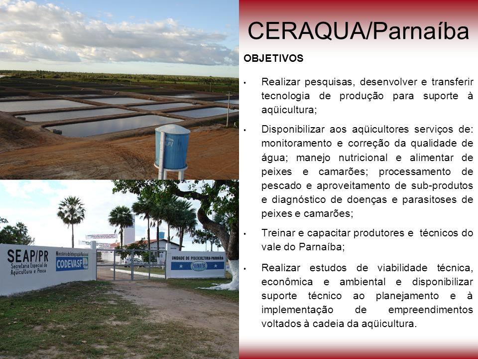 CERAQUA/Parnaíba OBJETIVOS