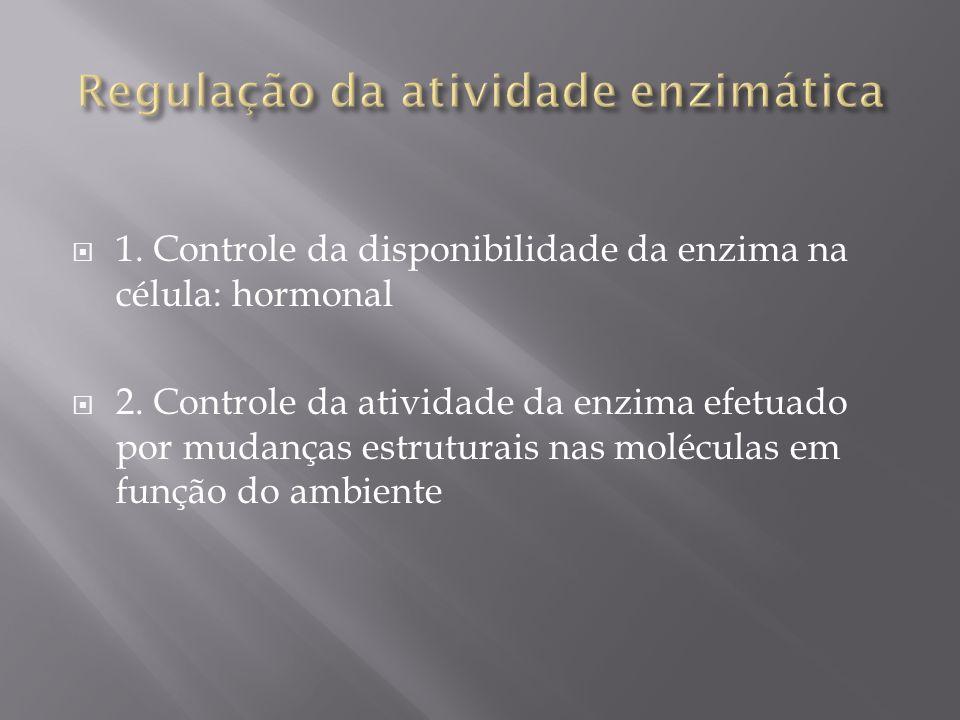 Regulação da atividade enzimática