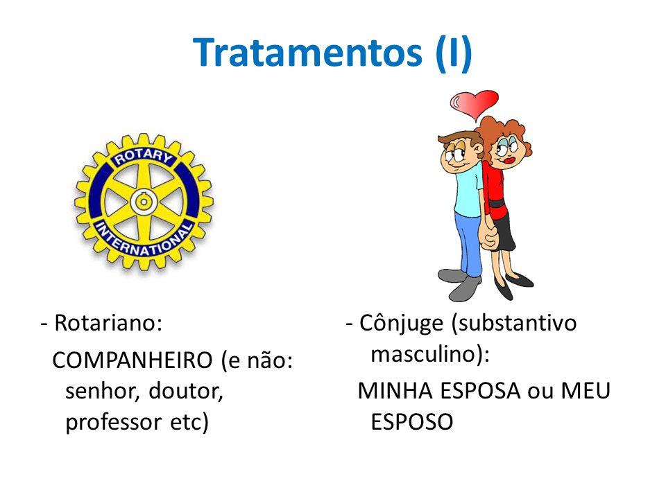Tratamentos (I) - Rotariano: