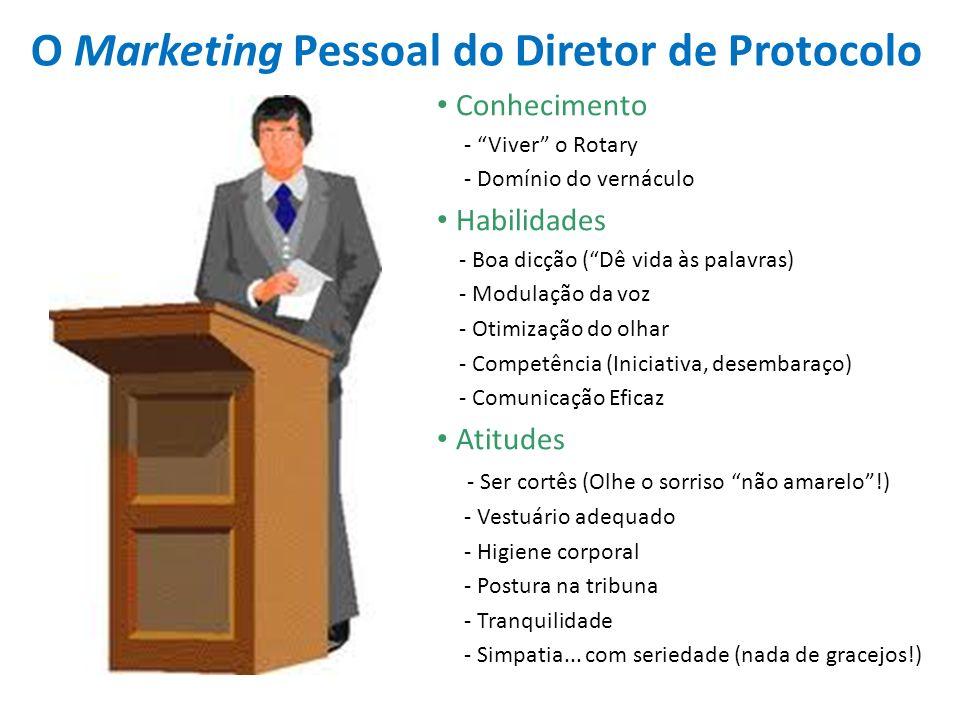 O Marketing Pessoal do Diretor de Protocolo