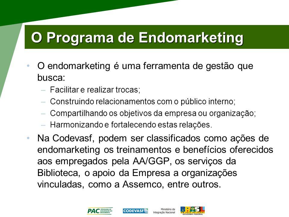 O Programa de Endomarketing