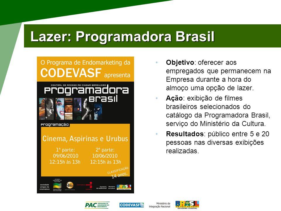 Lazer: Programadora Brasil
