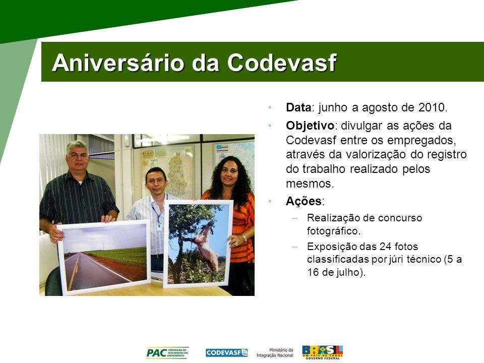 Aniversário da Codevasf