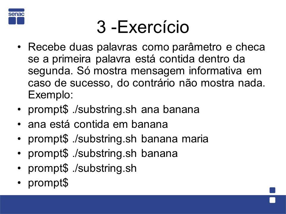 3 -Exercício
