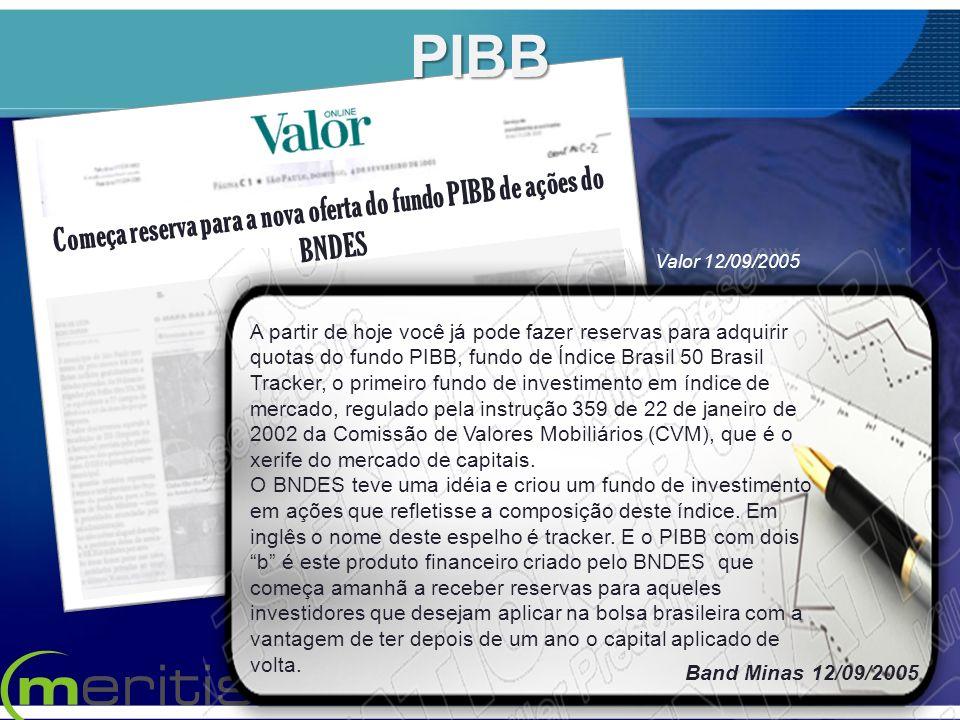 Começa reserva para a nova oferta do fundo PIBB de ações do BNDES