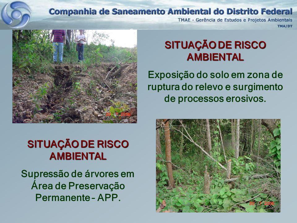 SITUAÇÃO DE RISCO AMBIENTAL