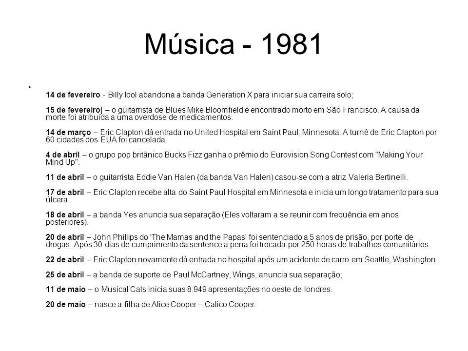 Música - 1981