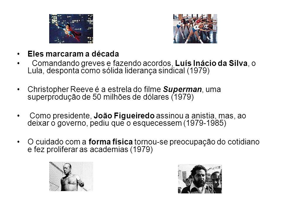 Eles marcaram a década Comandando greves e fazendo acordos, Luís Inácio da Silva, o Lula, desponta como sólida liderança sindical (1979)