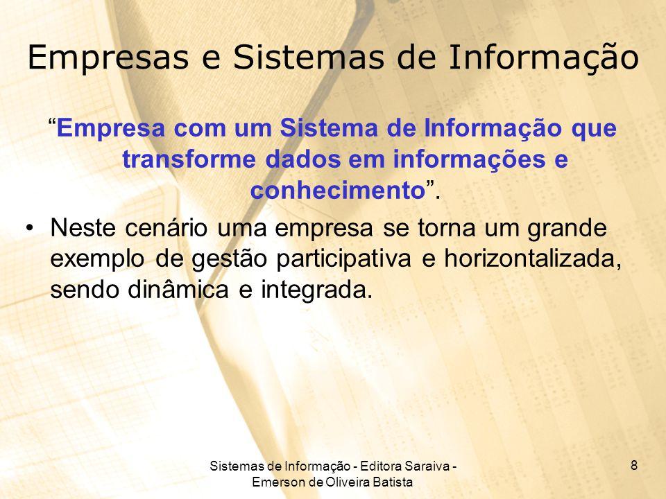 Empresas e Sistemas de Informação