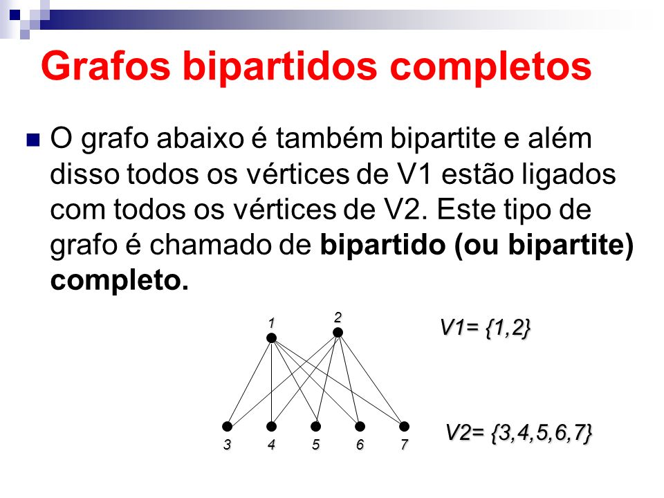 Grafos bipartidos completos