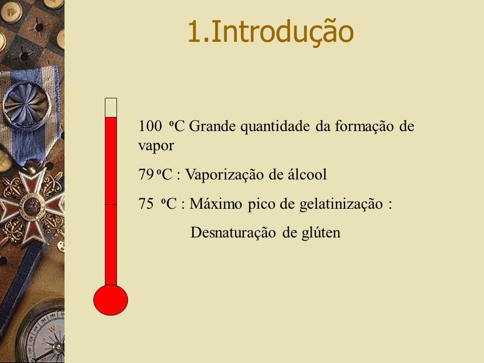 1.Introdução 100 oC Grande quantidade da formação de vapor