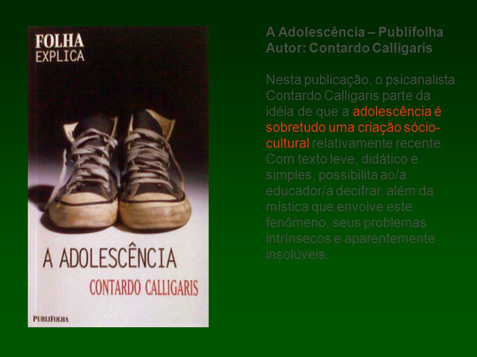 A Adolescência – Publifolha