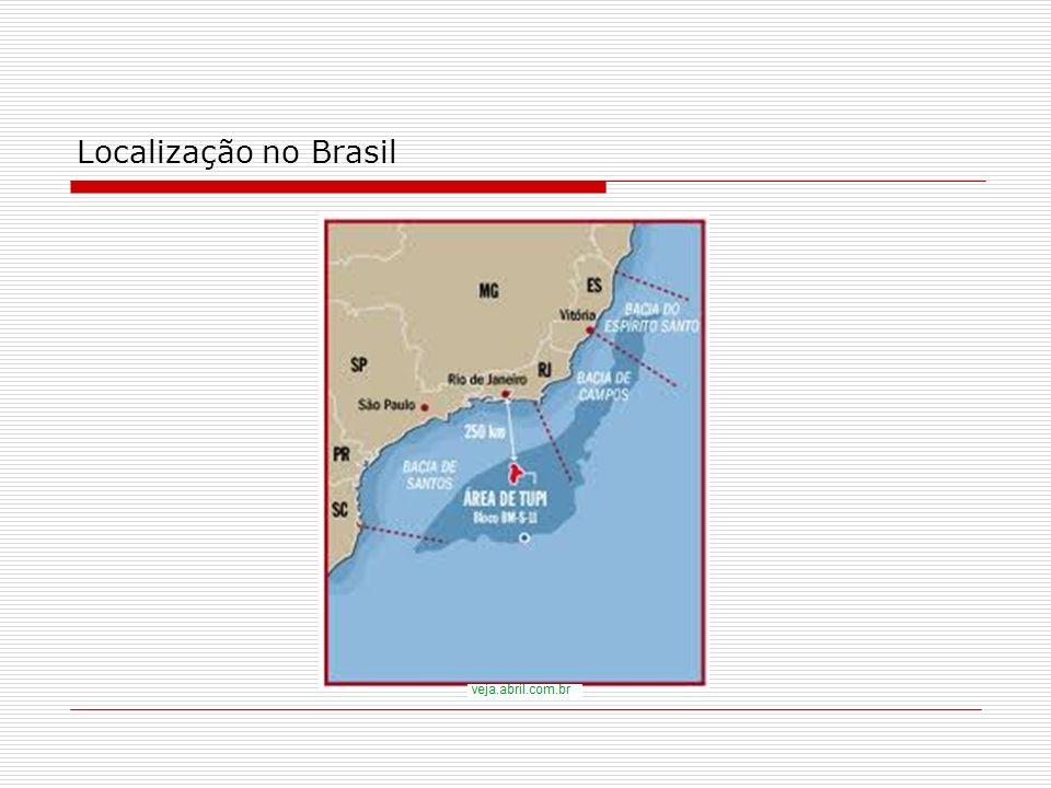 Localização no Brasil