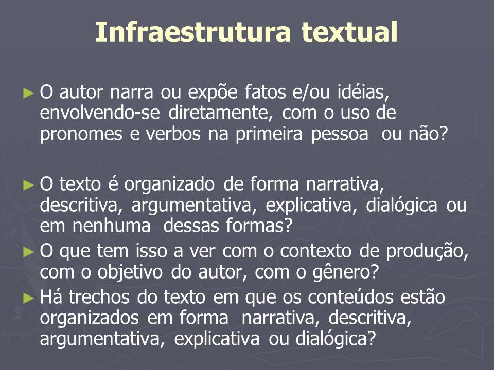 Infraestrutura textual