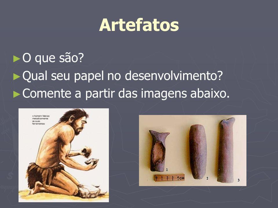 Artefatos O que são Qual seu papel no desenvolvimento