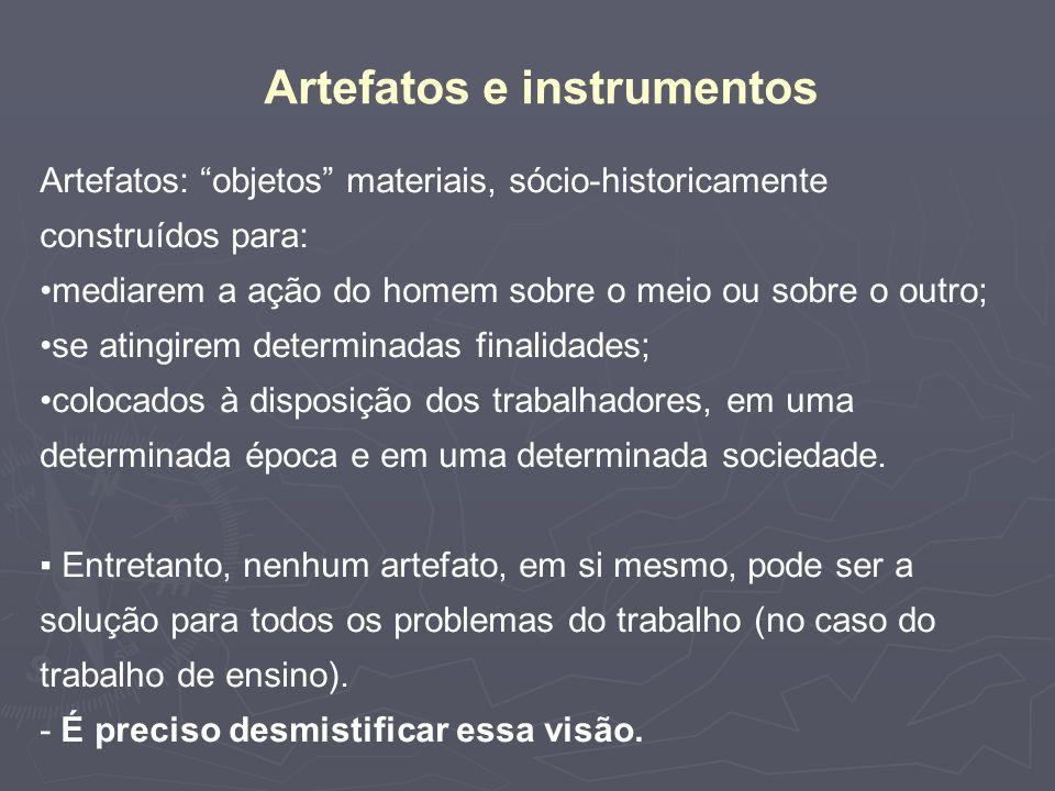 Artefatos e instrumentos
