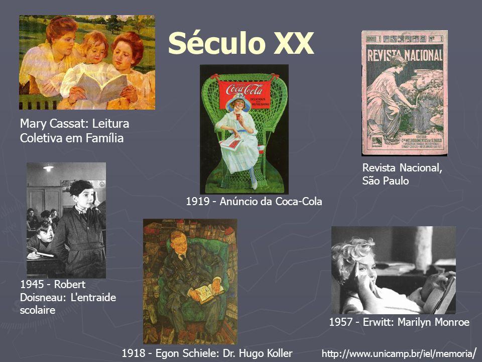 Século XX Mary Cassat: Leitura Coletiva em Família