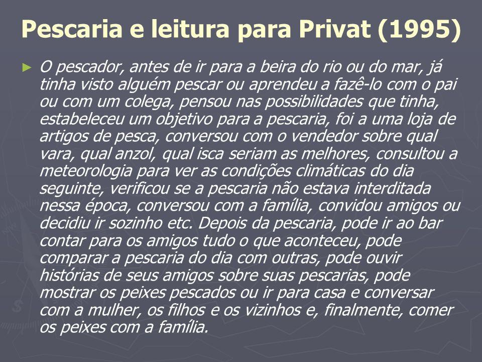 Pescaria e leitura para Privat (1995)