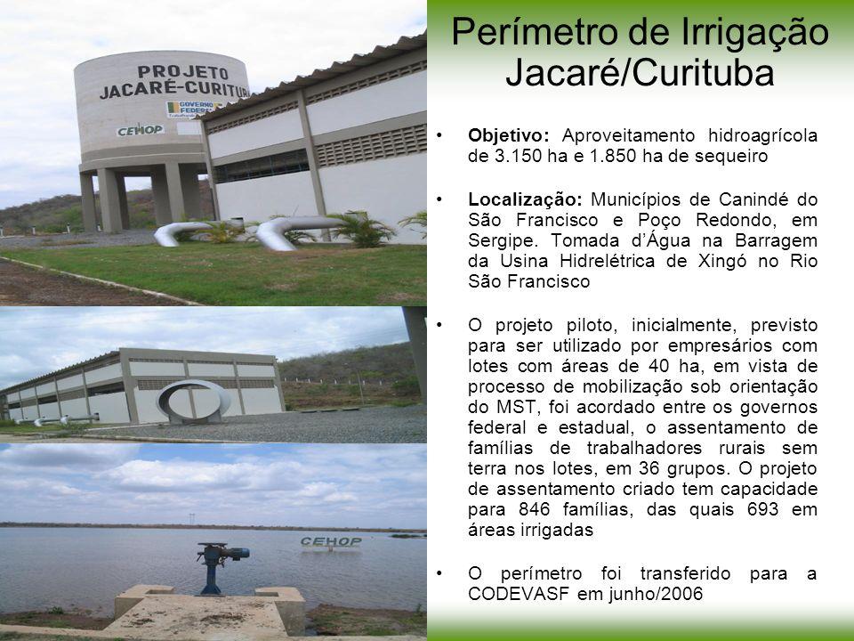 Perímetro de Irrigação Jacaré/Curituba