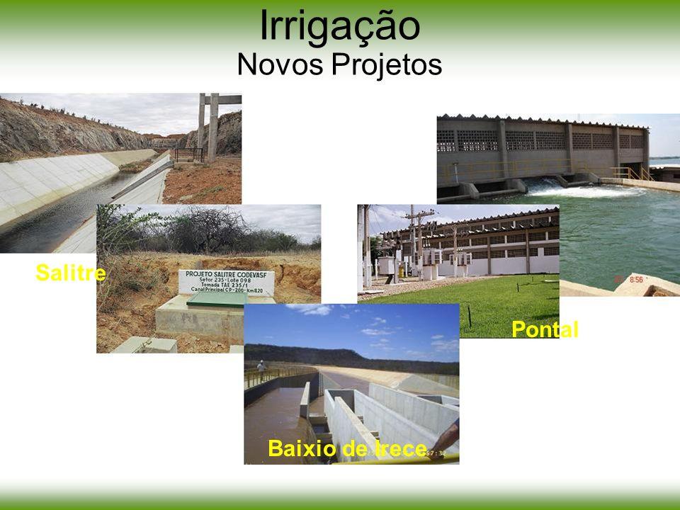 Irrigação Novos Projetos
