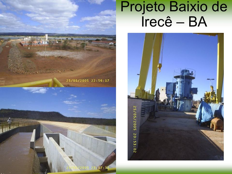 Projeto Baixio de Irecê – BA