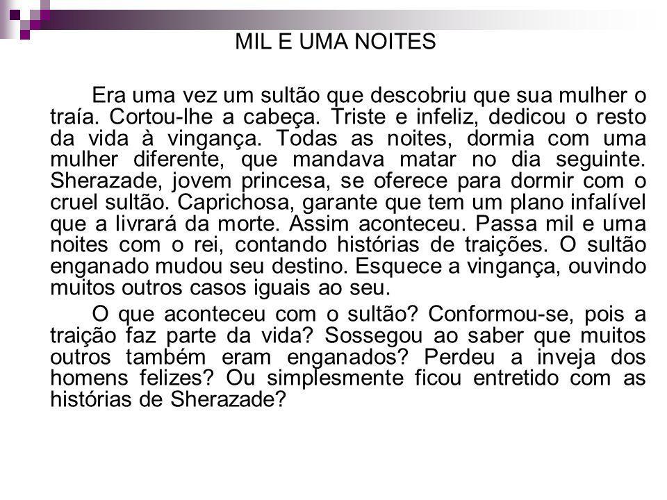 MIL E UMA NOITES