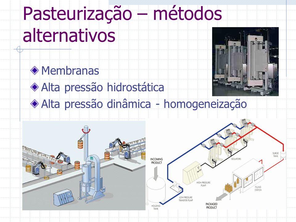 Pasteurização – métodos alternativos