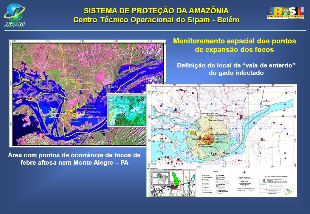 Monitoramento espacial dos pontos de expansão dos focos