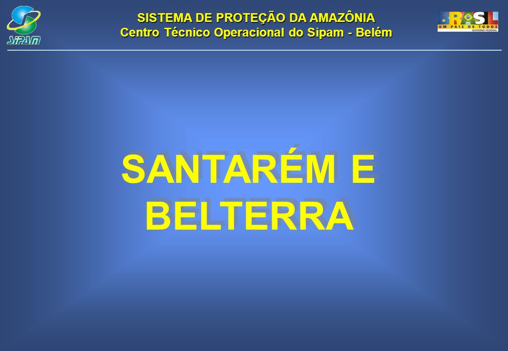 SANTARÉM E BELTERRA