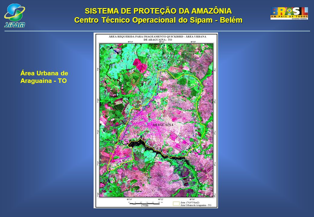 Área Urbana de Araguaina - TO