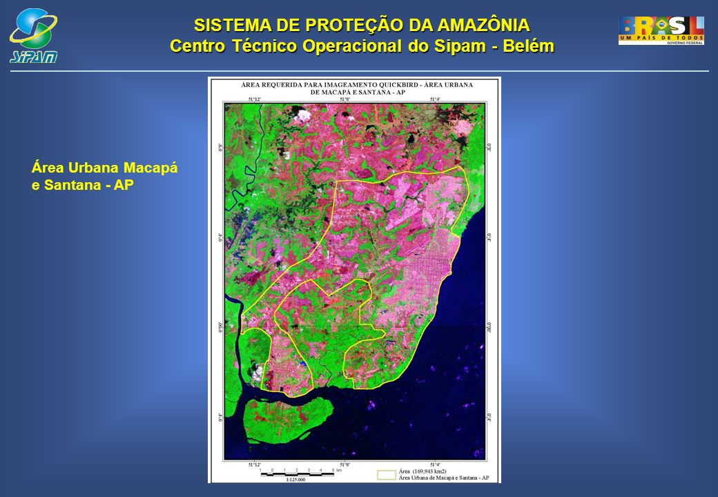 Área Urbana Macapá e Santana - AP