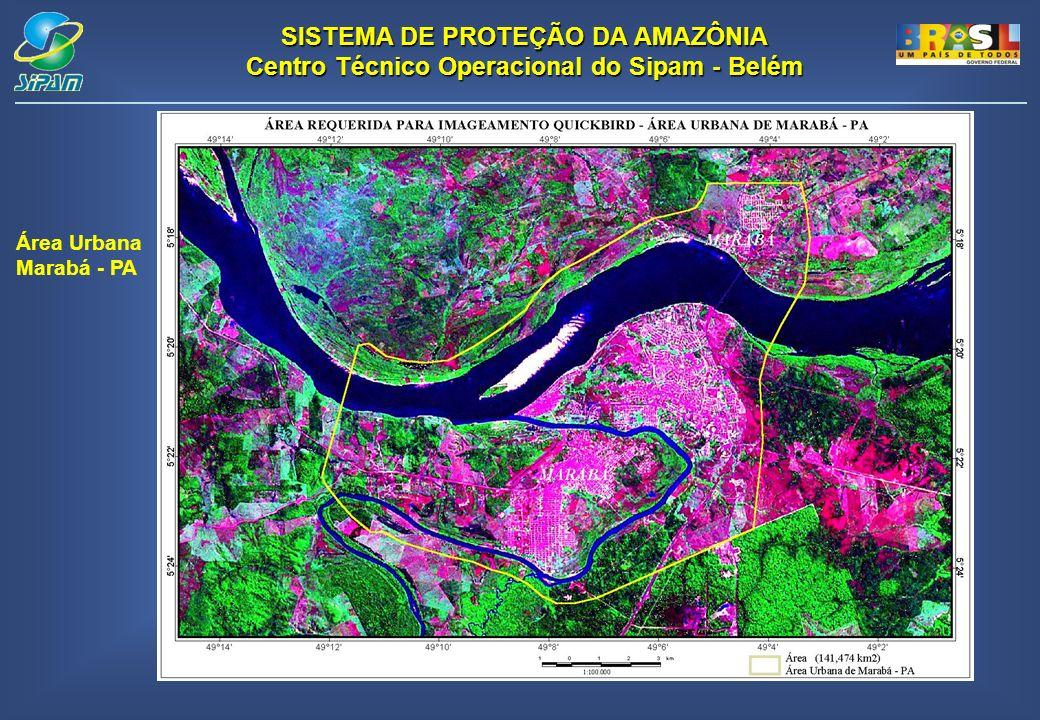 Área Urbana Marabá - PA