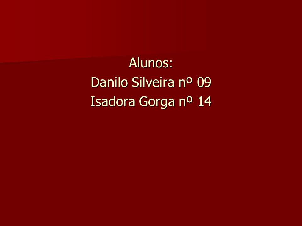 Alunos: Danilo Silveira nº 09 Isadora Gorga nº 14