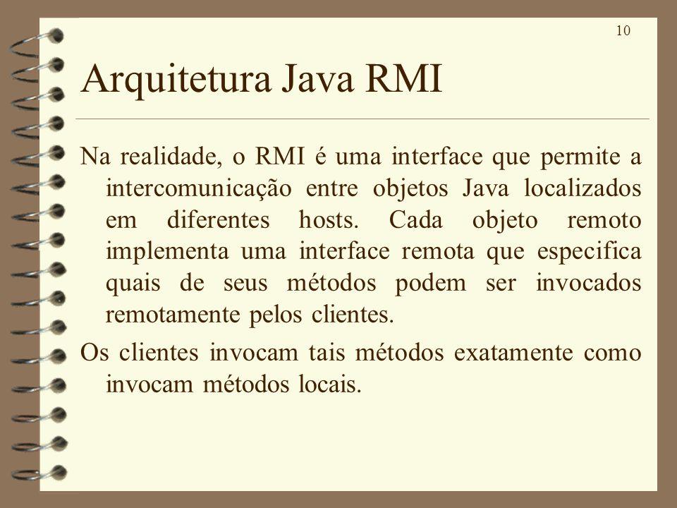 Arquitetura Java RMI