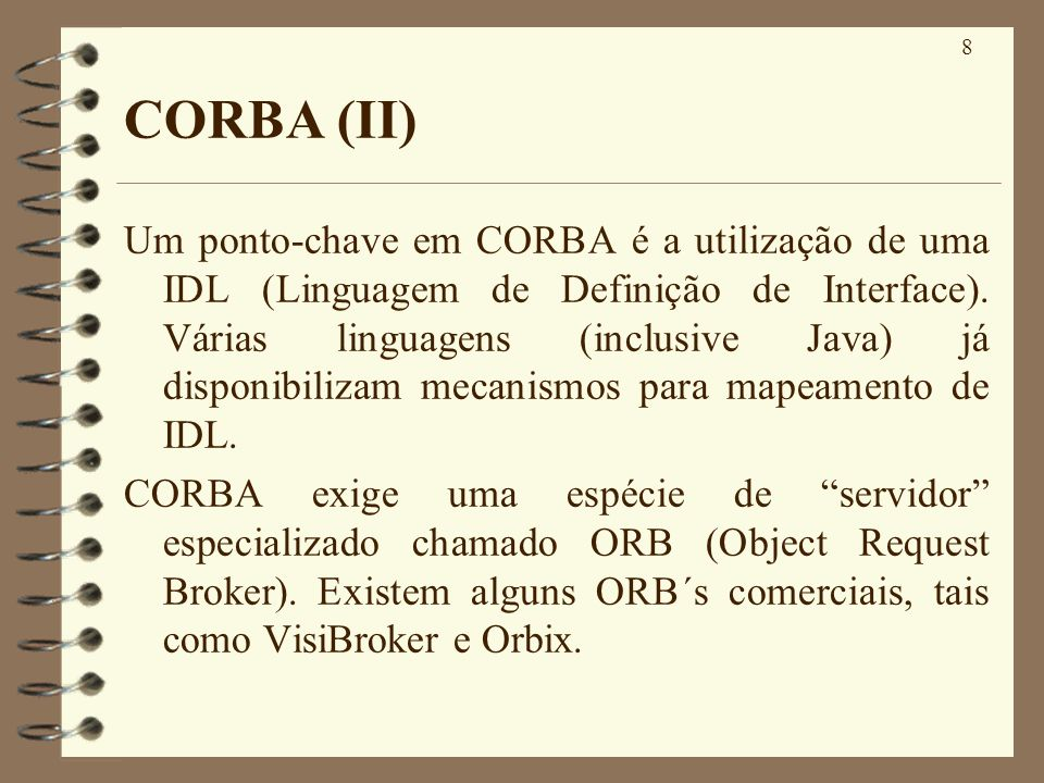 CORBA (II)