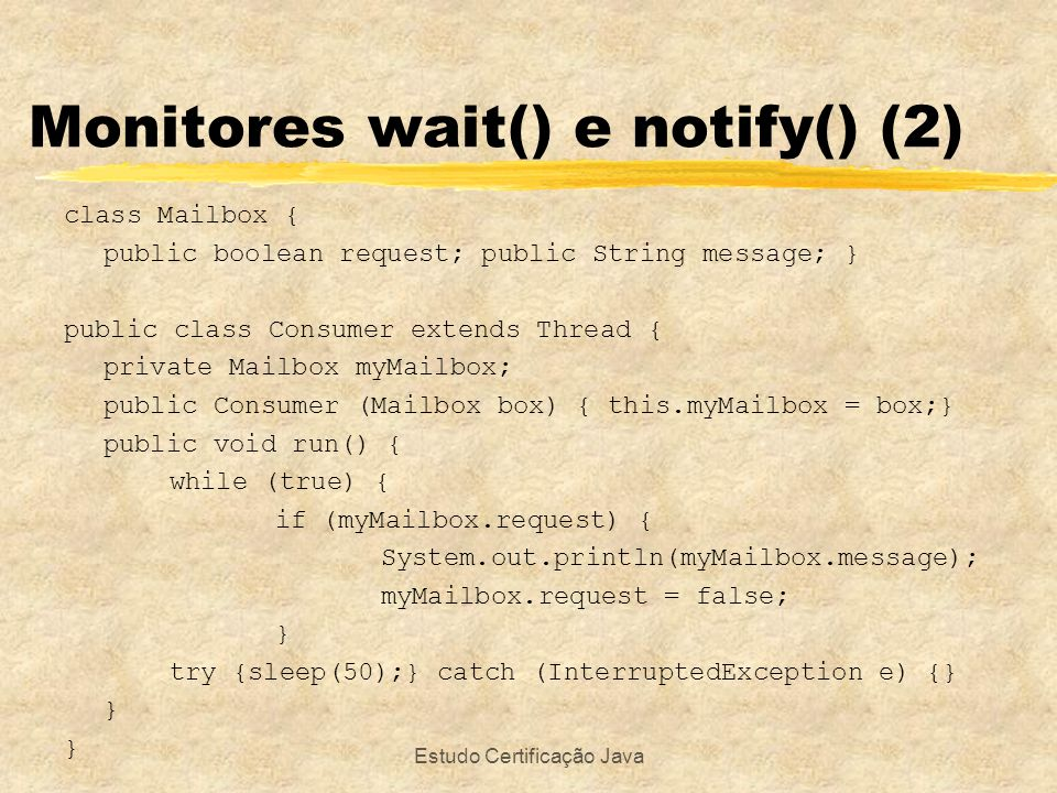 Monitores wait() e notify() (2)