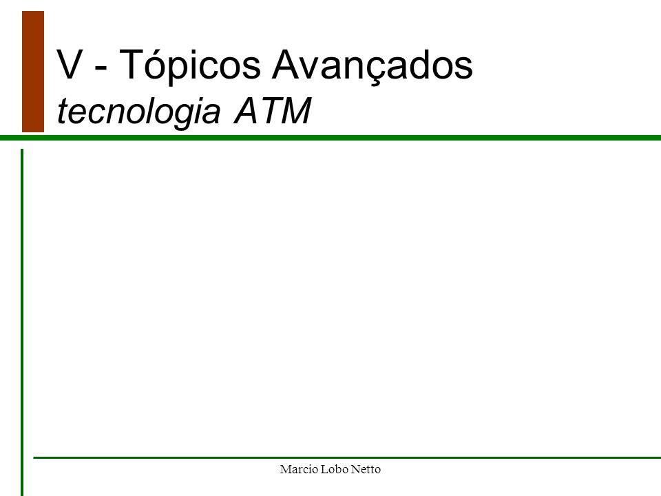 V - Tópicos Avançados tecnologia ATM