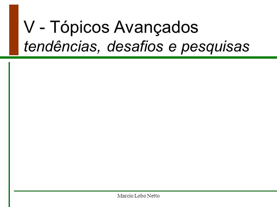 V - Tópicos Avançados tendências, desafios e pesquisas